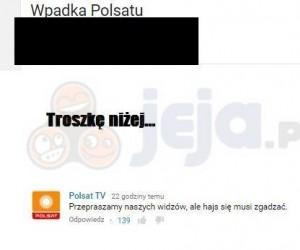 Wpadka Polsatu