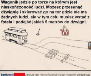 Tytuł został przejechany przez pociąg