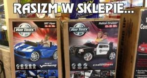 Rasizm w sklepie...