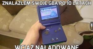 Znalazłem swoje GBA po 10 latach