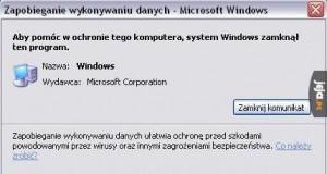 Windows zamyka Windows, żeby chronić komputer?