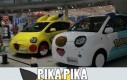 Pokemonowe samochody