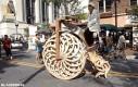 Drewniany bicykl