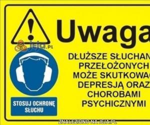 Dłuższe słuchanie przełożonych może być szkodliwe