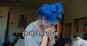 Niebieskie włosy, co?