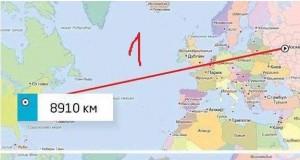 Geograficzna ciekawostka