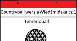 Countryball wersja Wiedźmińska