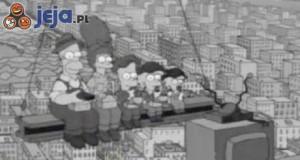 Simpsonowie i znane fotografie