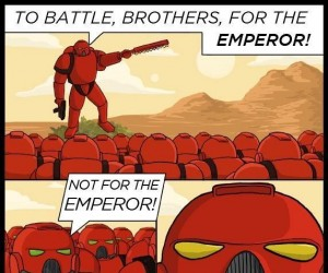 Four the emperor!