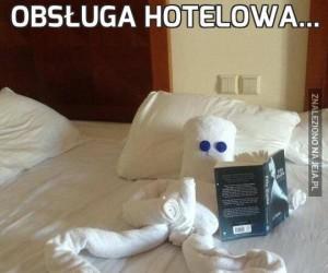 Obsługa hotelowa...