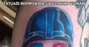 Tatuaże inspirowane Gwiezdnymi Wojnami