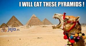 Zjem te piramidy