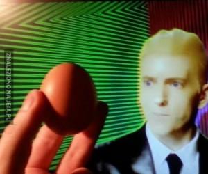 Eminem chce to jajko