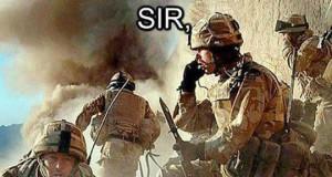 Sir, jesteśmy otoczeni!