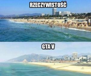 Rzeczywistości vs GTA V