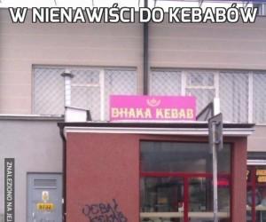 W nienawiści do kebabów