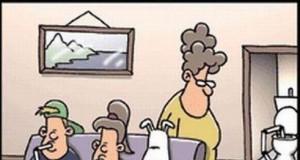 Picie przed telewizorem