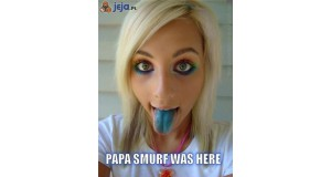 Papa Smerf tu był