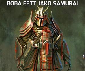 Boba Fett jako samuraj