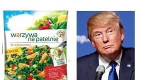 Trump i warzywa na patelnie