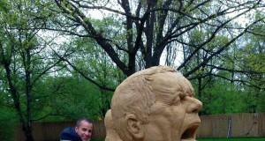 Piaskowa twarz