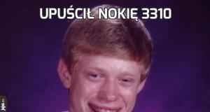 Upuścił Nokię 3310
