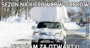 Sezon na kierowców-dupków