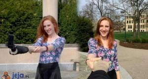 Poręczny selfie stick