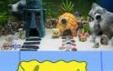 Akwarium z motywem Spongeboba