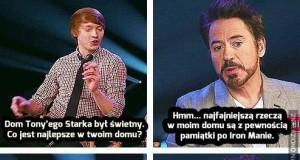 Robert Downey we własnej osobie