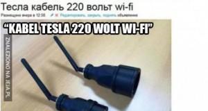 Bezprzewodowy prąd od Tesli