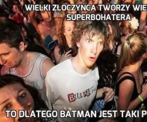 Wielki złoczyńca tworzy wielkiego superbohatera