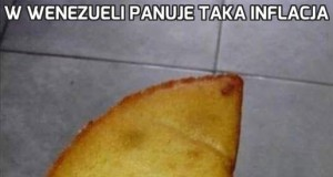W Wenezueli panuje taka inflacja