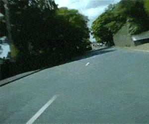 300km/h po osiedlu