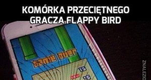 Komórka przeciętnego gracza Flappy Bird
