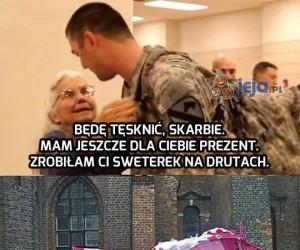 Babcia żołnierza