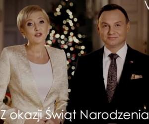 Jak Andrzej Duda składa życzenia