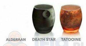 Świat SW w szklankach