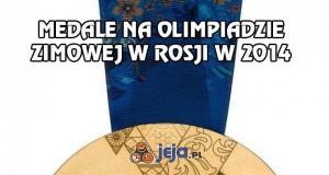 Medale na Olimpiadzie Zimowej w Rosji w 2014