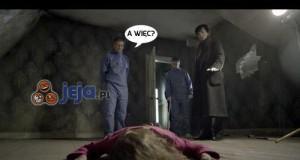 Dzięki Sherlocku!
