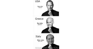 Jobs - USA, Grecja i Włochy