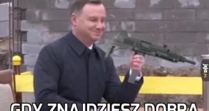 Gdy znajdziesz dobrą broń na śmieszków