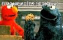 Elmo nie może się doczekać...