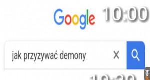 Google to najlepszy przyjaciel - wpakuje w kłopoty, a potem z nich wyciągnie