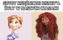Gdyby księżniczki Disney'a żyły w naszych czasach