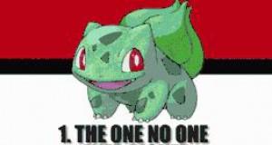 Imiona Pokemonów, których mogli użyć twórcy...