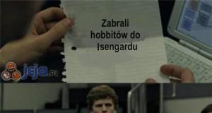 Zabrali hobbitów do Isengardu
