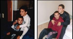 Odtworzone zdjęcia z dzieciństwa