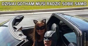 Dzisiaj Gotham musi radzić sobie samo