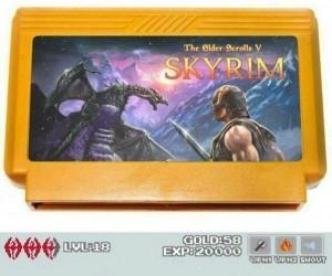 Skyrim 8-Bit